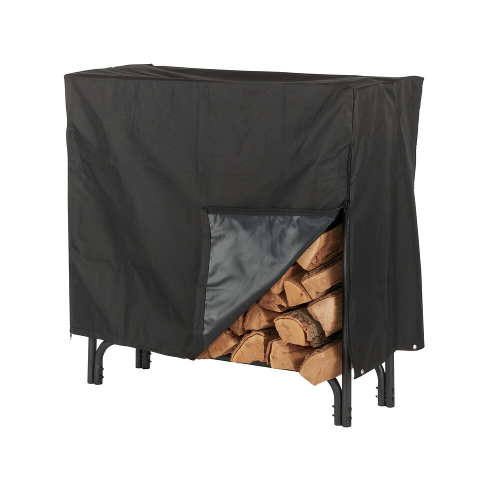 hy c 48 firewood log rack cover at
