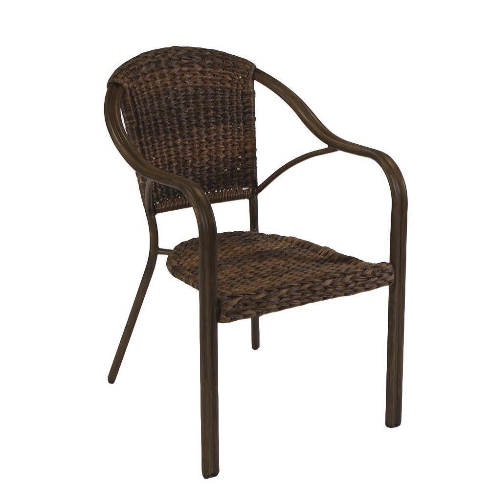 clarkson wicker bistro patio chair at