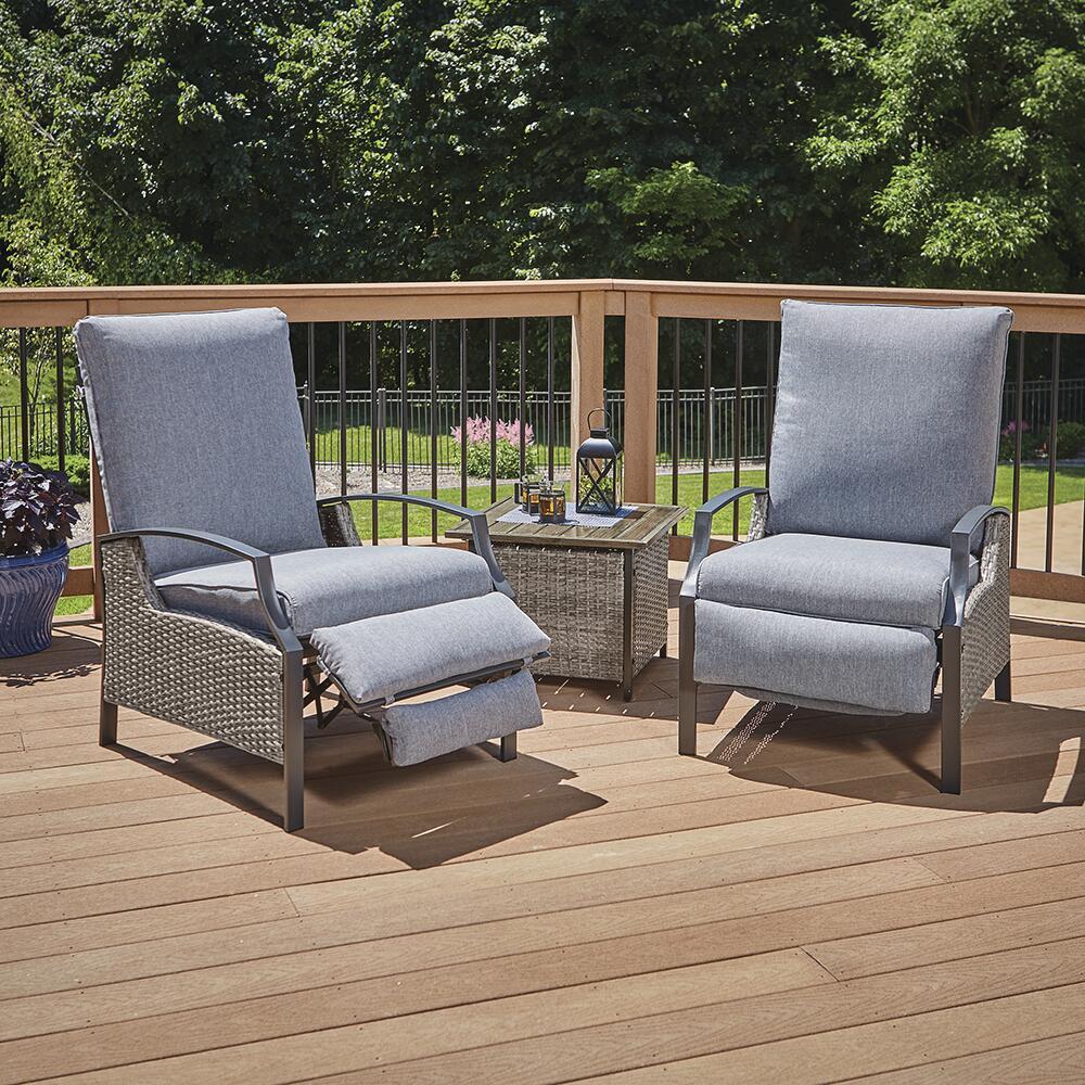 3 piece seating patio set at menards