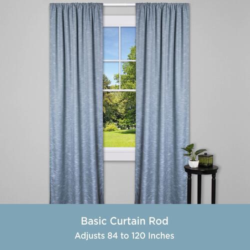 kenney standard curtain rod at menards