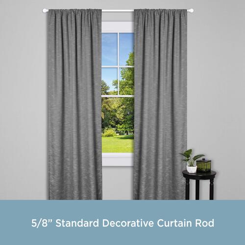 chelsea standard decorative curtain rod