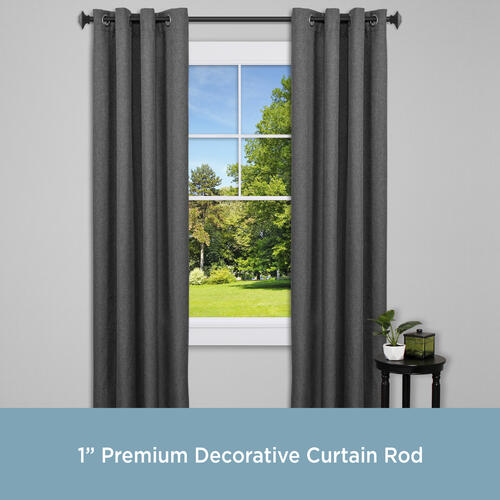 mission premium decorative curtain rod