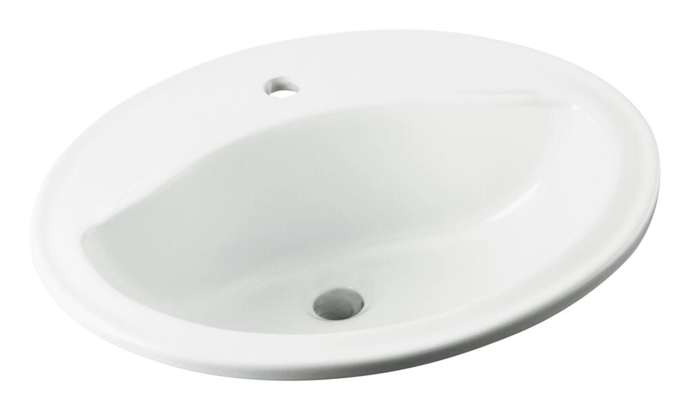 bathroom sink no faucet holes