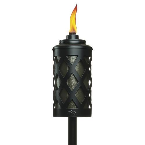 tiki 65 urban metal patio torch at