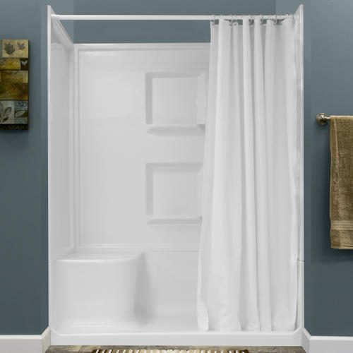 72 h weighted nylon shower curtain