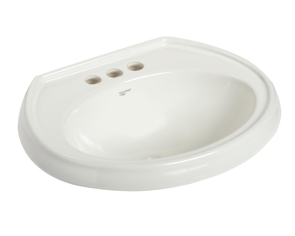 white oval drop in bathroom sink 4