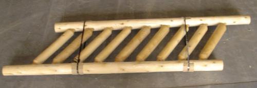 Meadow Valley White Cedar Commercial Grade Log Stair | Menards Interior Stair Railing