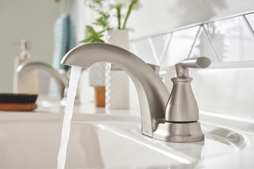 high arc vs low arc bathroom faucet