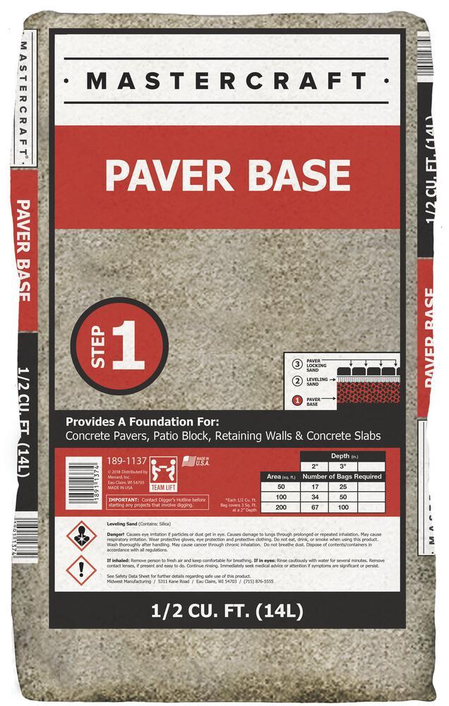 paver base step 1 2 cu ft at menards