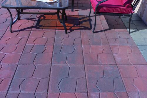 16 x 16 lakestone patio block at menards