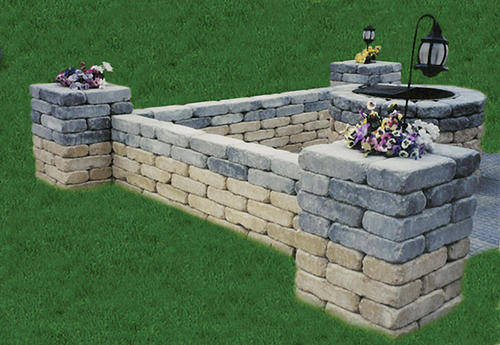 tumbled belgian large wall block