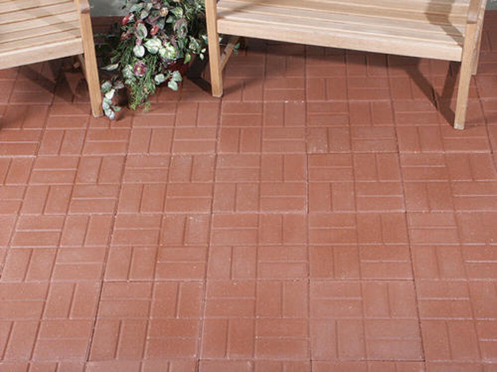 12 x 12 brickface patio block at menards