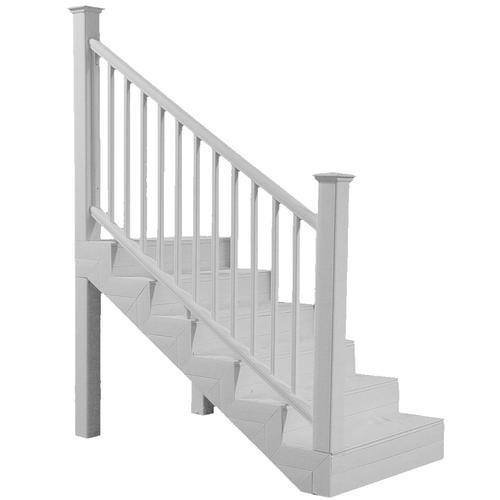 Ultradeck® Fusion® 6 W X 3 H Stair Rail At Menards®   Outdoor Stair Railing Menards