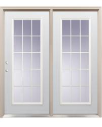 patio doors at menards
