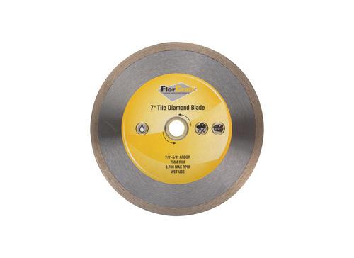 continuous rim diamond saw blade for