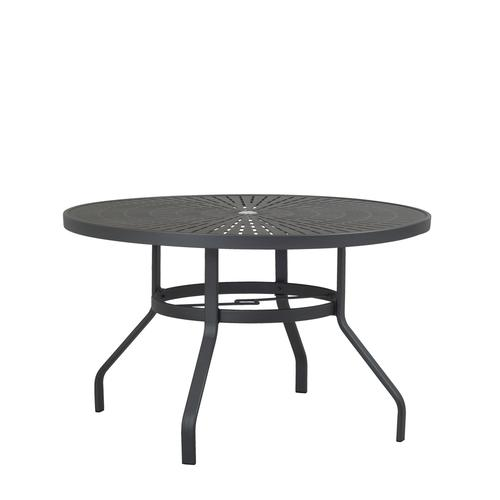 legacy round dining patio table at