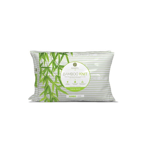 essence of bamboo luxury knit pillow