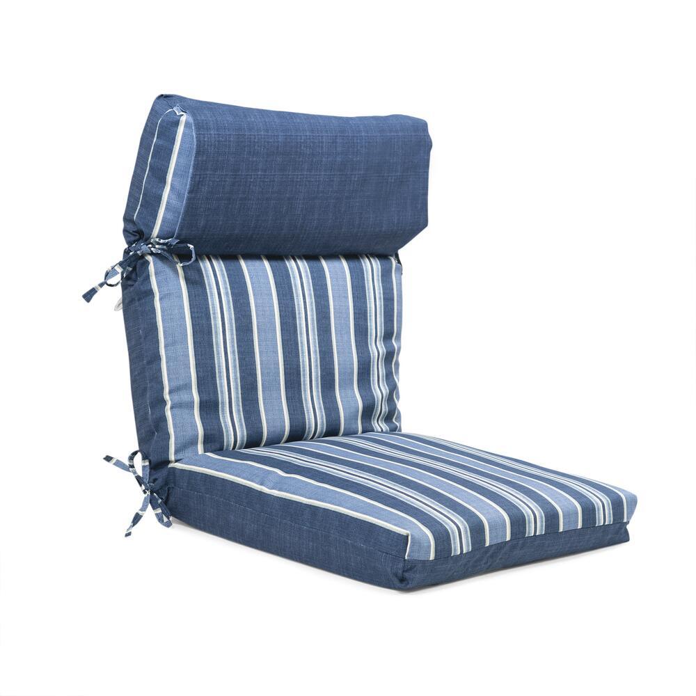 lafayette stripe reversible patio chair