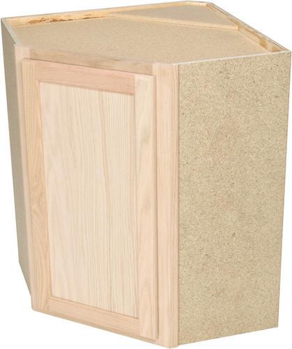 Quality One 24 X 30 Diagonal Kitchen Corner Wall Cabinet At Menards