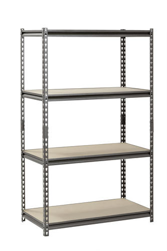 36 w x 60 h x 18 d 4 shelf metal
