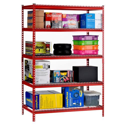 shelf metal freestanding shelving unit