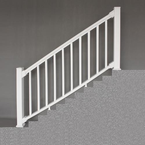 Designer S Image® 6 X 3 Premium Classic Vinyl Railing At   Outdoor Stair Railing Menards
