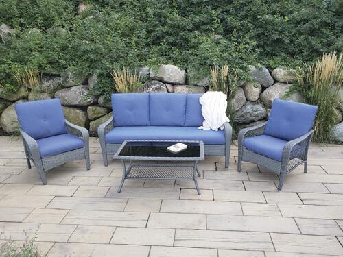 portage peak 4 piece seating patio set