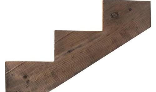 Ac2® Cedartone Premium Pressure Treated Stringer At Menards® | Pressure Treated Stair Treads | Wide | 3 Ft | Picture Frame | Glue Block | Deck