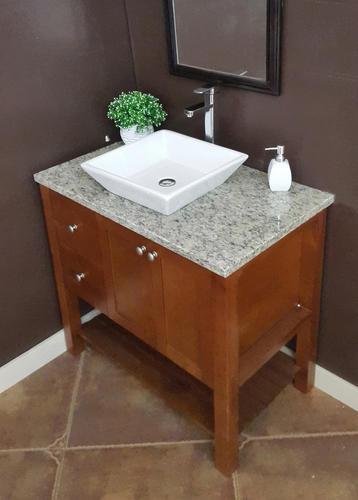 d granite vanity top with vessel cutout