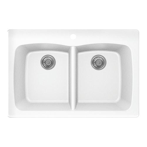 double bowl kitchen sink at menards