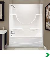 bathtubs & showers at menards®