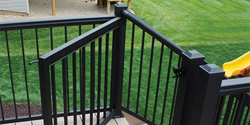 Exterior Railings Gates At Menards® | Outdoor Stair Railing Menards