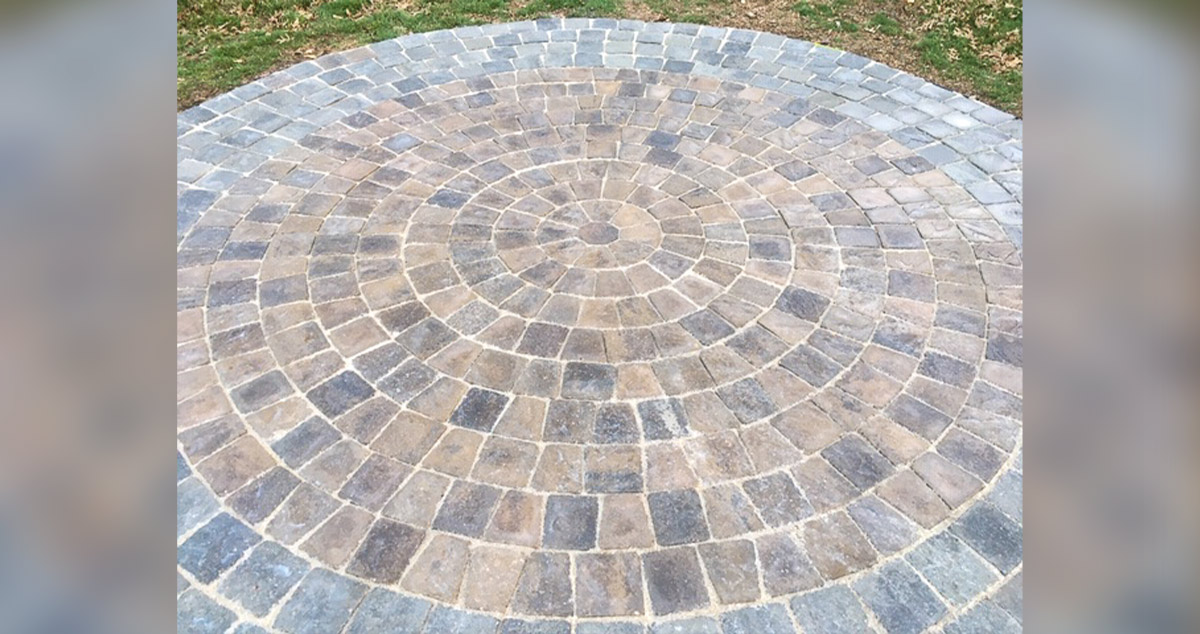 round patio project by austin at menards