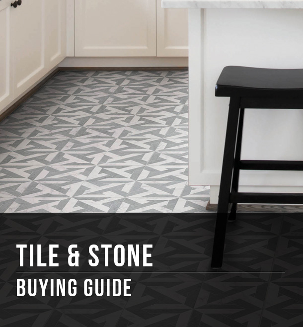 tile stone buying guide at menards