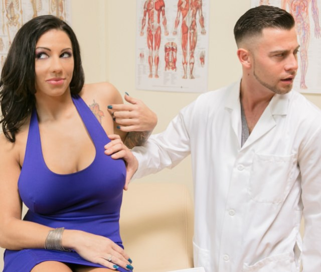 Lilith Lavey Gets Roughly Facefucked In Doctors Office