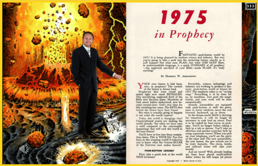 1975 in Prophecy Color Version