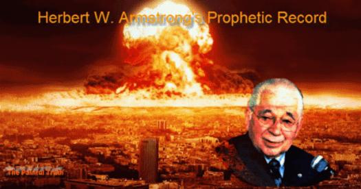 Herbert Armstrong's Prophetic Record