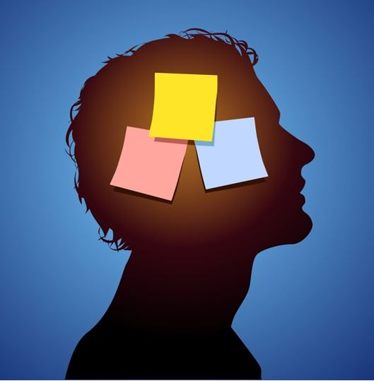 Don't Worry - Postits on brain - Capture - jun 15, 2015