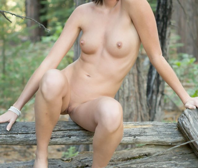Naked Sexy Girl Sitting On Wood January  Voyeur Web Hall Of Fame