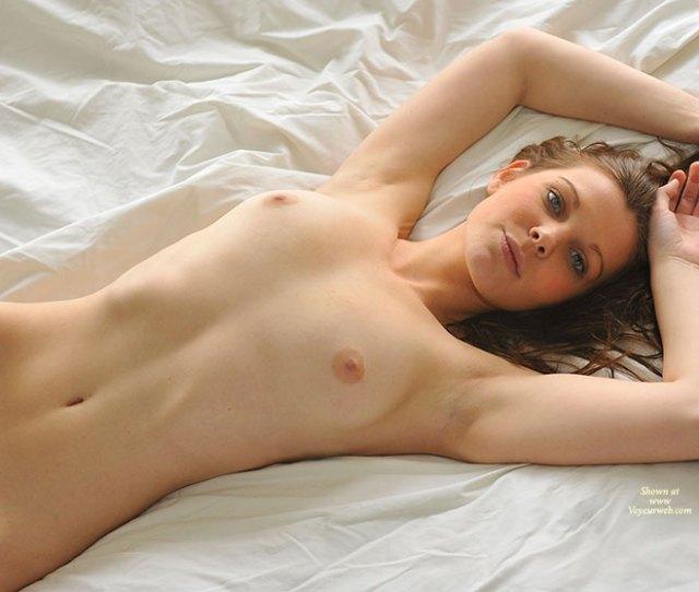 Very Sexy Nude Girl In Repose Brown Eyes Brown Hair Long Hair