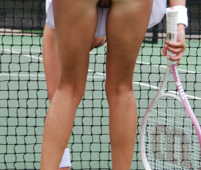 Tennis Players Flash Nude Pussy