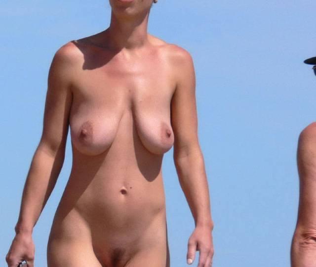 Pic 4 Fantastic Beach Scene Beach Voyeur Big Tits Brunette