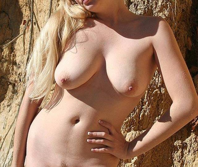 Yummy And Naked Blonde Girl Big Tits Blonde Hair Erect Nipples Exposed
