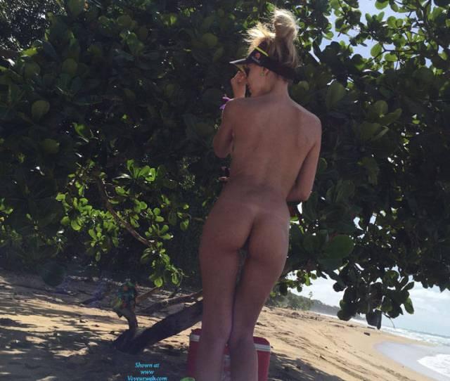 Pic 3 Having Fun At The Beach Naked Beach Big Tits Outdoors