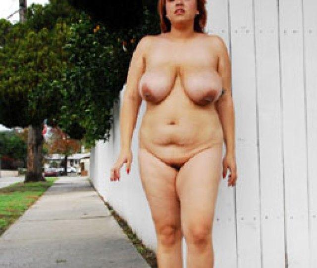 Alexandra Goes Nude In Public