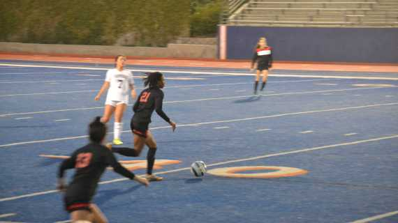 Girls' Soccer looking strong