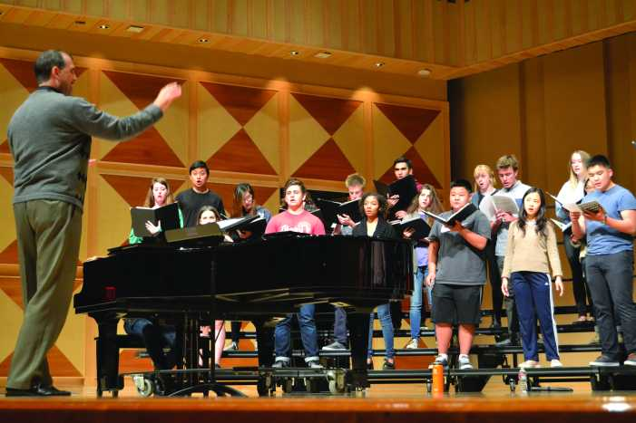 Choir teacher to leave, hopes to teach adult music education