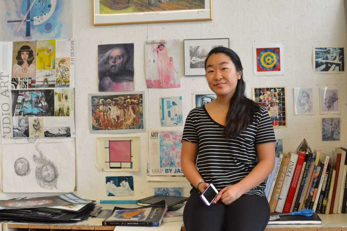 Natalie Choi '18 finds a home away from home