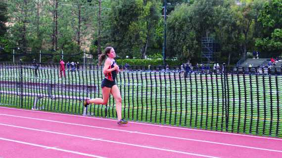 Q&A with girls' cross country athlete Casey Crosson '17