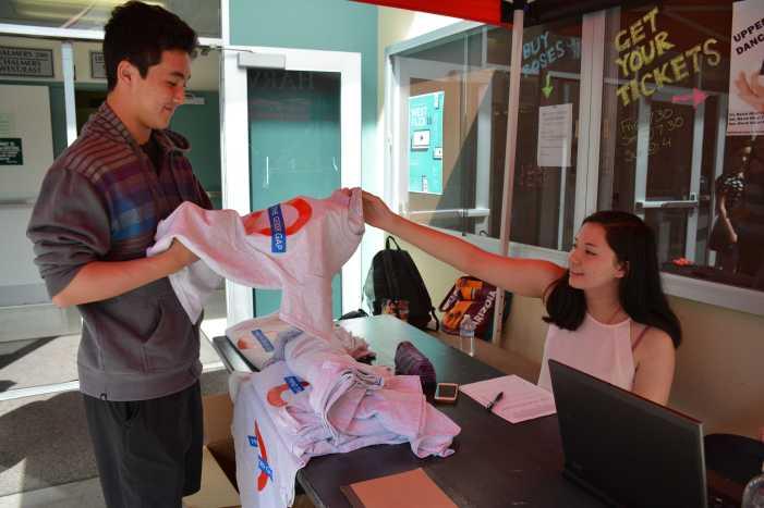 La Femme sells gender equality T-shirts